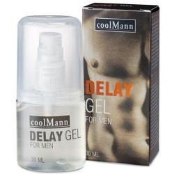 GEL RETARDANTE COOLMANN 30ML