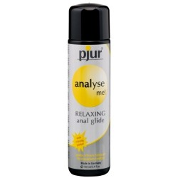 LUBRIFICANTE À BASE DE SILICONE PJUR ANALYSE ME! RELAXING ANAL GLIDE 100ML