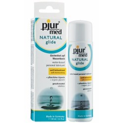 LUBRIFICANTE PJUR MED NATURAL GLIDE  100 ML
