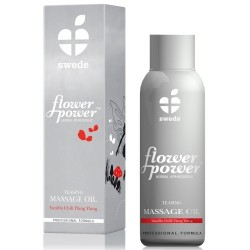 ÓLEO DE MASSAGEM FLOWER POWER TEASING 50ML