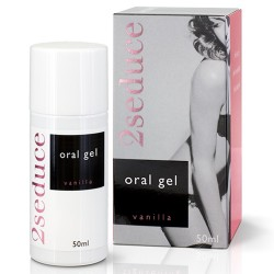 GEL ORAL 2SEDUCE SABOR A BAUNILHA 50ML