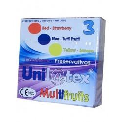 PRESERVATIVOS MULTIFRUTAS 3 UNIDADES