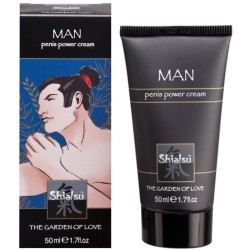 CREME ESTIMULANTE MASCULINO SHIATSU™ PENIS POWER CREAM 50ML