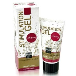 GEL ESTIMULANTE SHIATSU™ STIMULATION GEL CEREJA 30ML