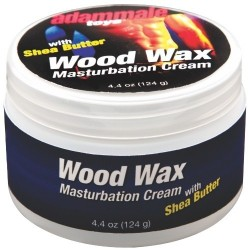 CREME DE MASTURBAÇÃO ADAM MALE TOYS WOOD WAX MASTURBATION CREAM 124G
