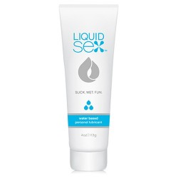 LUBRIFICANTE À BASE DE ÁGUA LIQUID SEX WATER BASED LUBE 118ML