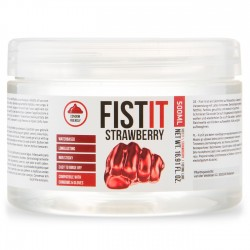 LUBRIFICANTE PARA FISTING FIST IT MORANGO 500ML