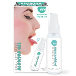 GEL INTÍMO ORAL OPTIMIZER BLOWJOB GEL SABOR MENTA 50ML