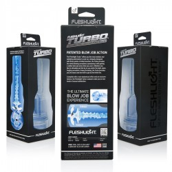 MASTURBADOR TURBO THRUST FLESHLIGHT AZUL