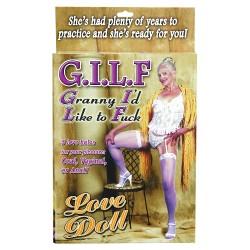 BONECA INSUFLÁVEL GILF LOVE DOLL