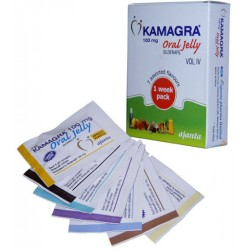 KAMAGRA ORAL JELLY VOL IV